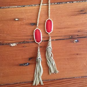 Kendra Scott Necklace Coral